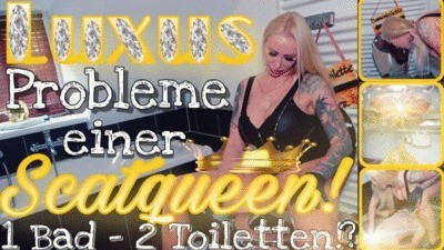 Luxury problems of a scatqueen - 1 bathroom 2 toilets!