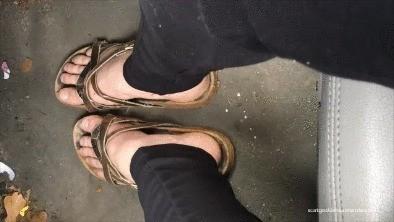 Sweaty Feet, Dirty Shoes & Toilet Worship