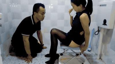 Goddess Zhao's Shit Licker