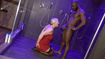 Big Black Cock pissed me in my mouth! Black on Blonds Files!