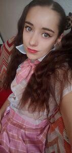 Naughty schoolgirl educates you through scat