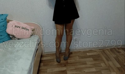 Domina Evgenia - POV Foot Fetish, spit, ballbusting, boot fetish