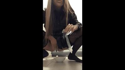 Domina Evgenia - Scat, piss, sperm (POV)