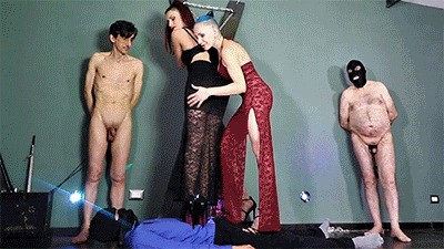 MISTRESS ISIDE - GREENHORN TO STEP ON HD