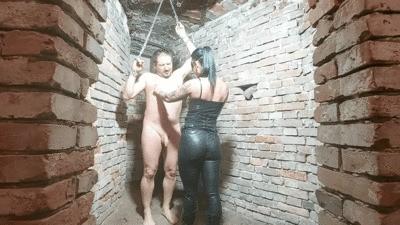 Kytana and friend bizarre basement and enema