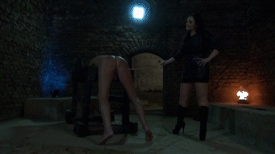 Heavy Whipping for my Slave