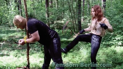 Lady Chrissy - Torture in the Forest P3