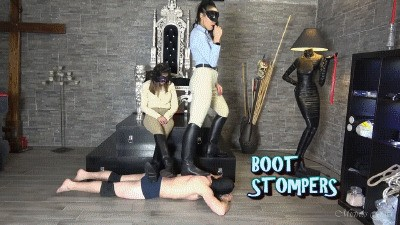 MISTRESS GAIA - BOOT STOMPERS - HD