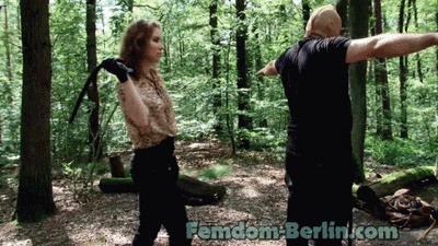 Lady Chrissy - Torture in the Forest P6
