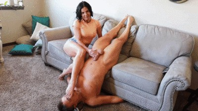 Ruined foot sniffing orgasm