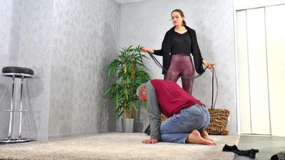 Punishment for his useless existence
