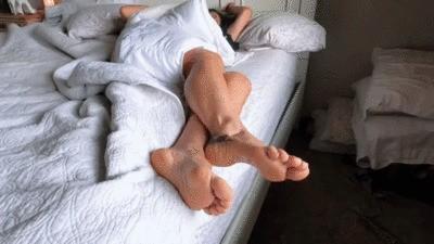Morning goddess foot worship