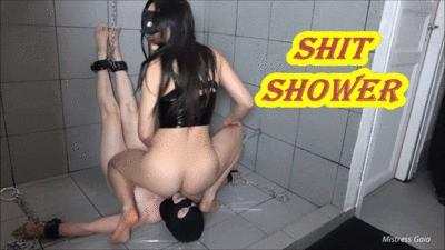 MISTRESS GAIA - SHIT SHOWER - HD