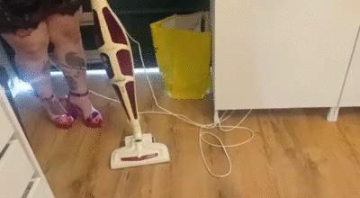 Sexy vacuuming (mp4)