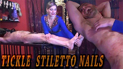 MISTRESS ISIDE - TICKLE STILETTO NAILS HD