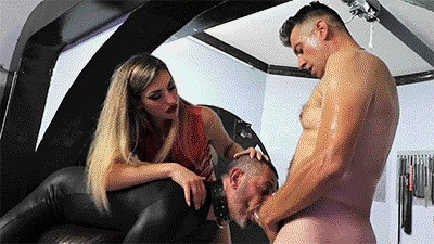 MISTRESS ISIDE - THE PLUMBER HAS A BIG PIPE HD