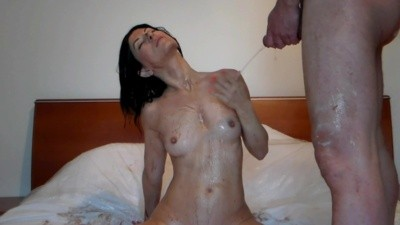 WILD FOOD MESS and GOLDEN SHOWER SEX