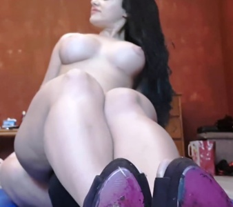 Goddess Parvati - cock teasing footjob and toilet
