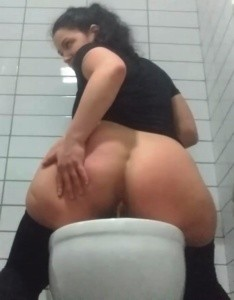 Workout and toilet slavery humiliation