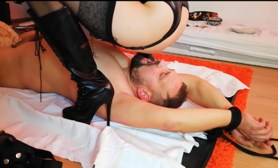 Scat and Sperm Swallow Feast for my slave (Part 3 of 3)