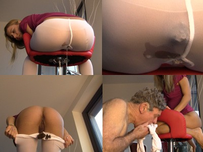 Princess Nikki Pantyhose shitting