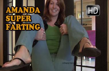 Amanda, The Farting Lady!!