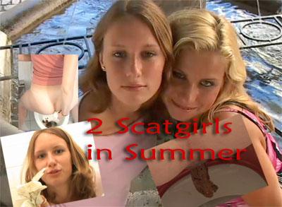 2 Shitgirls in Summer