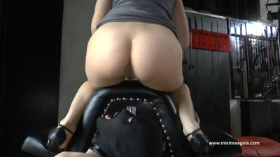 MISTRESS GAIA - SHIT AND PISS FROM TOP