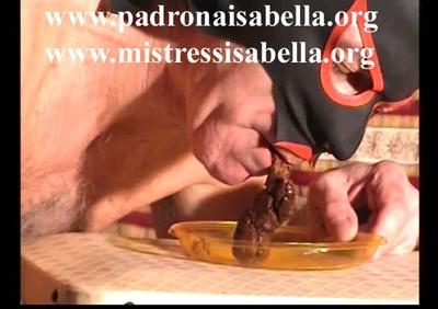 071.3 Long eating Mistress Isabella's shit