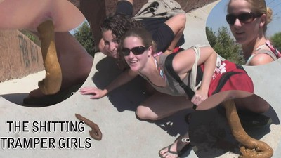 The shitting Tramper Girls