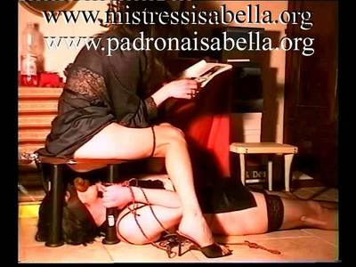 057.1 Best big SCAT of Mistress Isabella