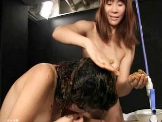 Lesbo Bitches Creates a Disgusting Shit Shampoo! - HD Part 4 Movie