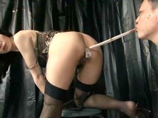 Dirty Daddy Eats Off Her Stuffed Ass! - HD Only