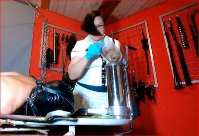 Mistress Jade,  the nurse and scat Machine Part 1