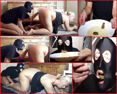 From my asshole, slave in doggy style, milk caviar cocktail shot in the mouth!
