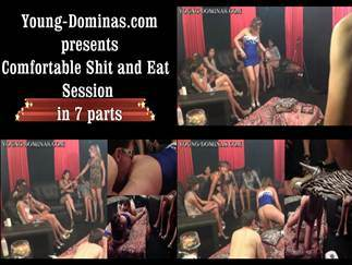 Comfortable Shit And Eat Session Part 1