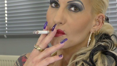 Lady Jasmine Black, Your Mistress Watch Her While She Is Smoking