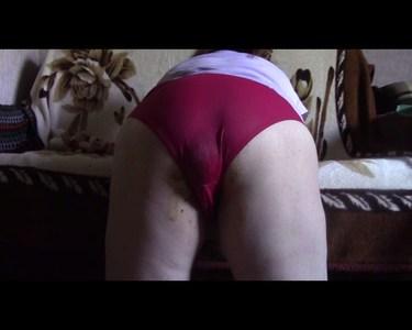 Oxana Dark Panties Poop
