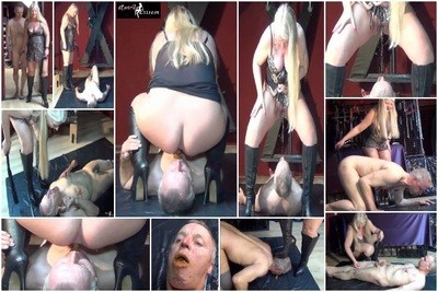 New Dutch-slave, filled, for the first time, with shit and piss!