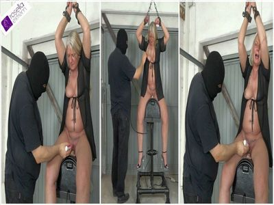 Rosella to visit at AmateureXtreme: Hard Sybian ride! Part 1