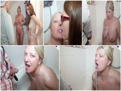 Maries WG-roommates pissed me in the mouth, with Lesbo-Piss-Swapping!