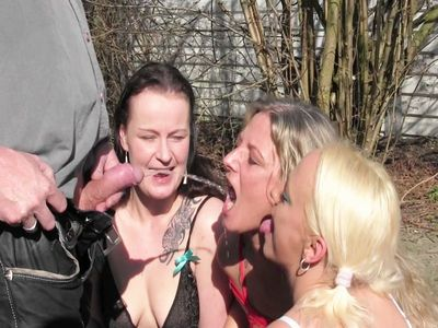 3 Public, Swallowing whores! Camera 2
