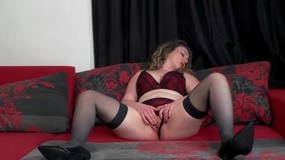 Masturbating in my new lingerie 2 45