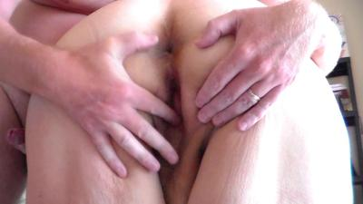 Playing With Her Pussy In Closeup