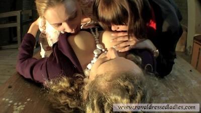 Three Girls Punishment Bdsm Torture Part 1