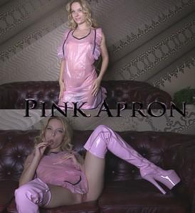 Pink PVC Apron