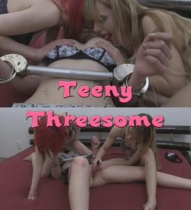 Teeny threesome