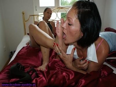 Lezdom Foot Worship 3
