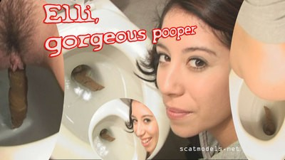 Fantastic Elli pooping..