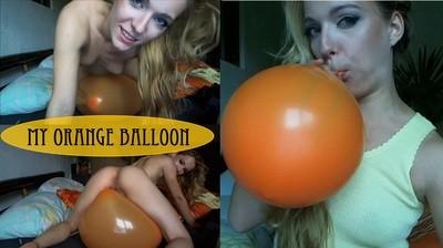 my orange balloon